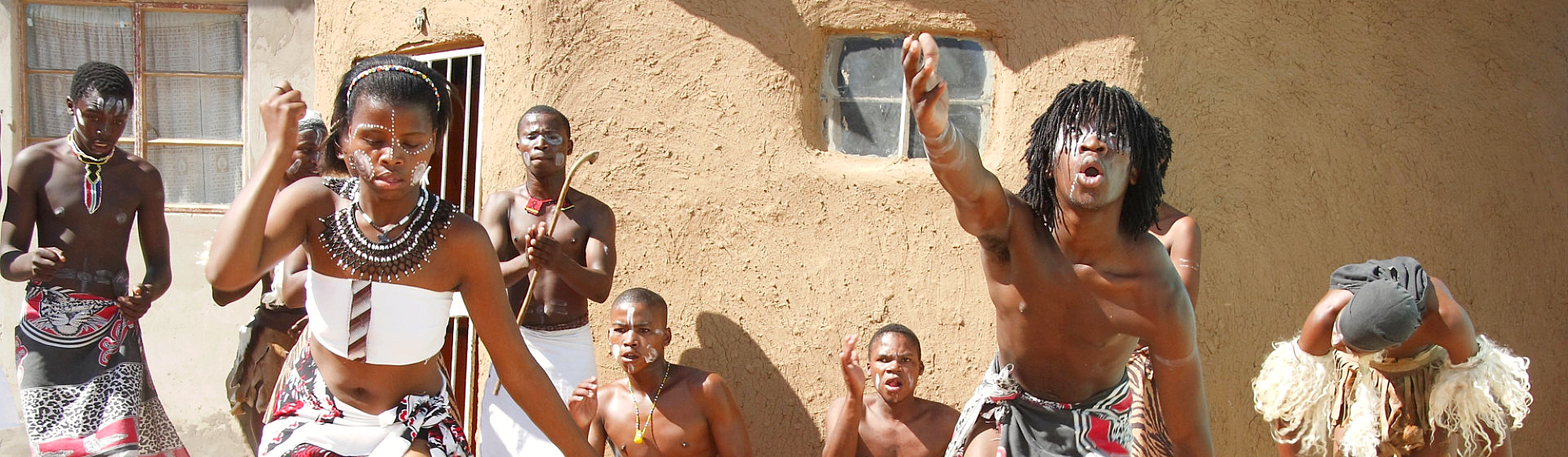 african people doing their ritual
